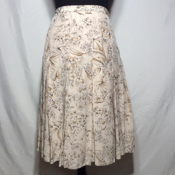 Burberry Dresses & Skirts - Burberry Silk Skirt